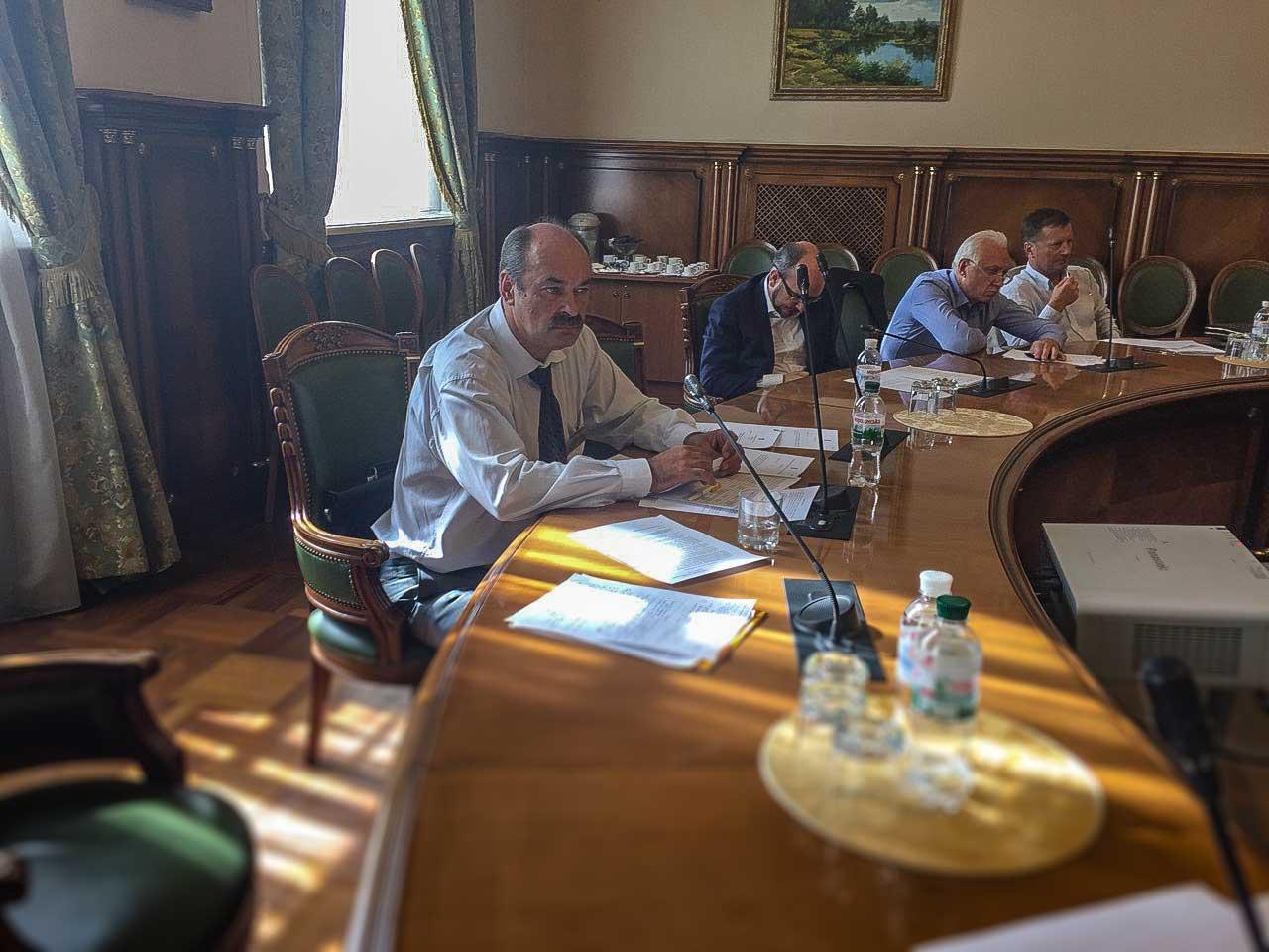 Засідання Громадської колегії Ради Національного банку України