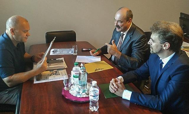Зустріч Голови Ради АУБ та Президента АУБ з в.о. Голови Комітету з питань фінансової політики і банківської діяльності