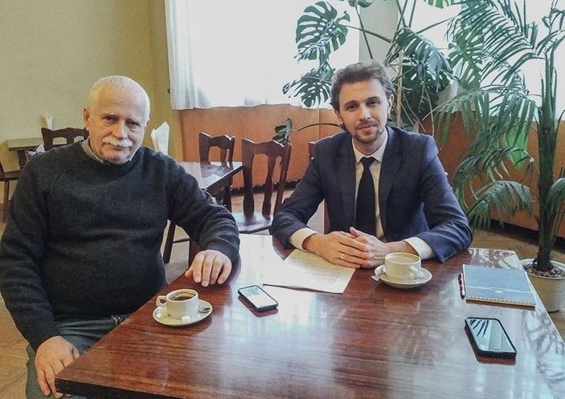 Президент АУБ провів зустріч з першим президентом АУБ